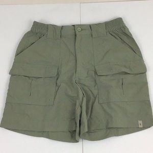 Royal Robbins Green Cargo Shorts Size 6